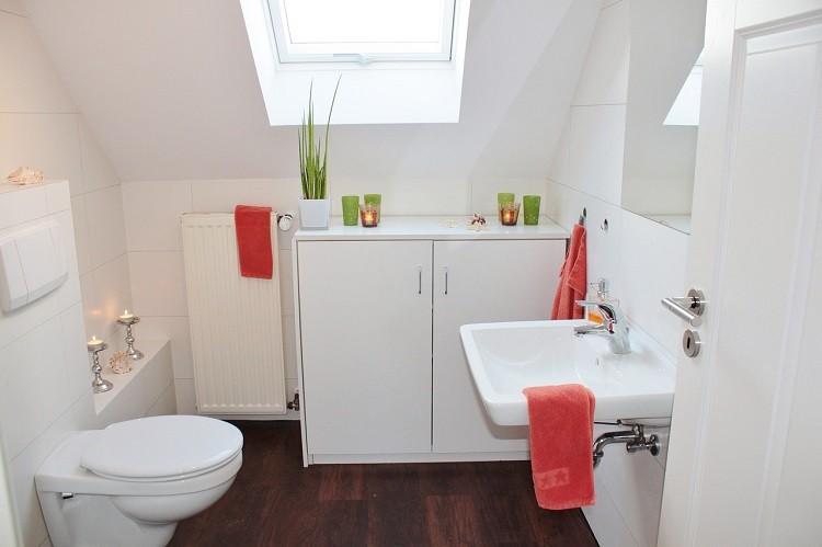 Porządek w niewielkiej łazience